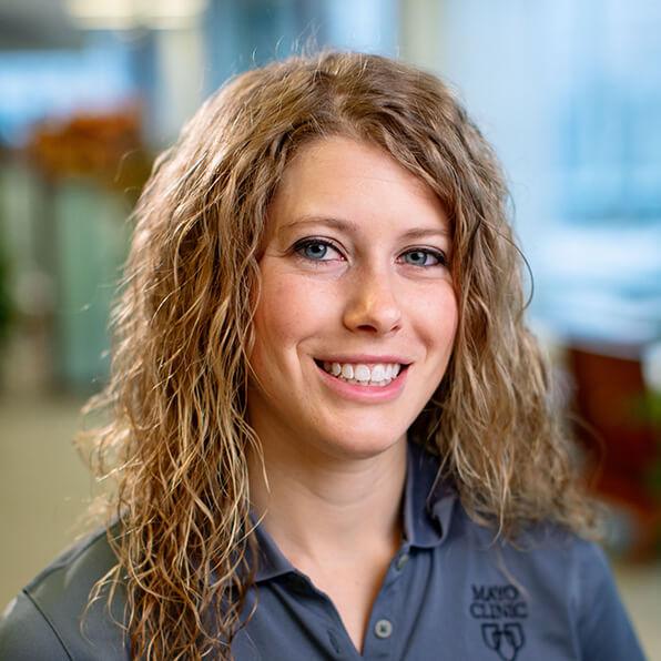Photo of Amber Johnson, LAT, ATC