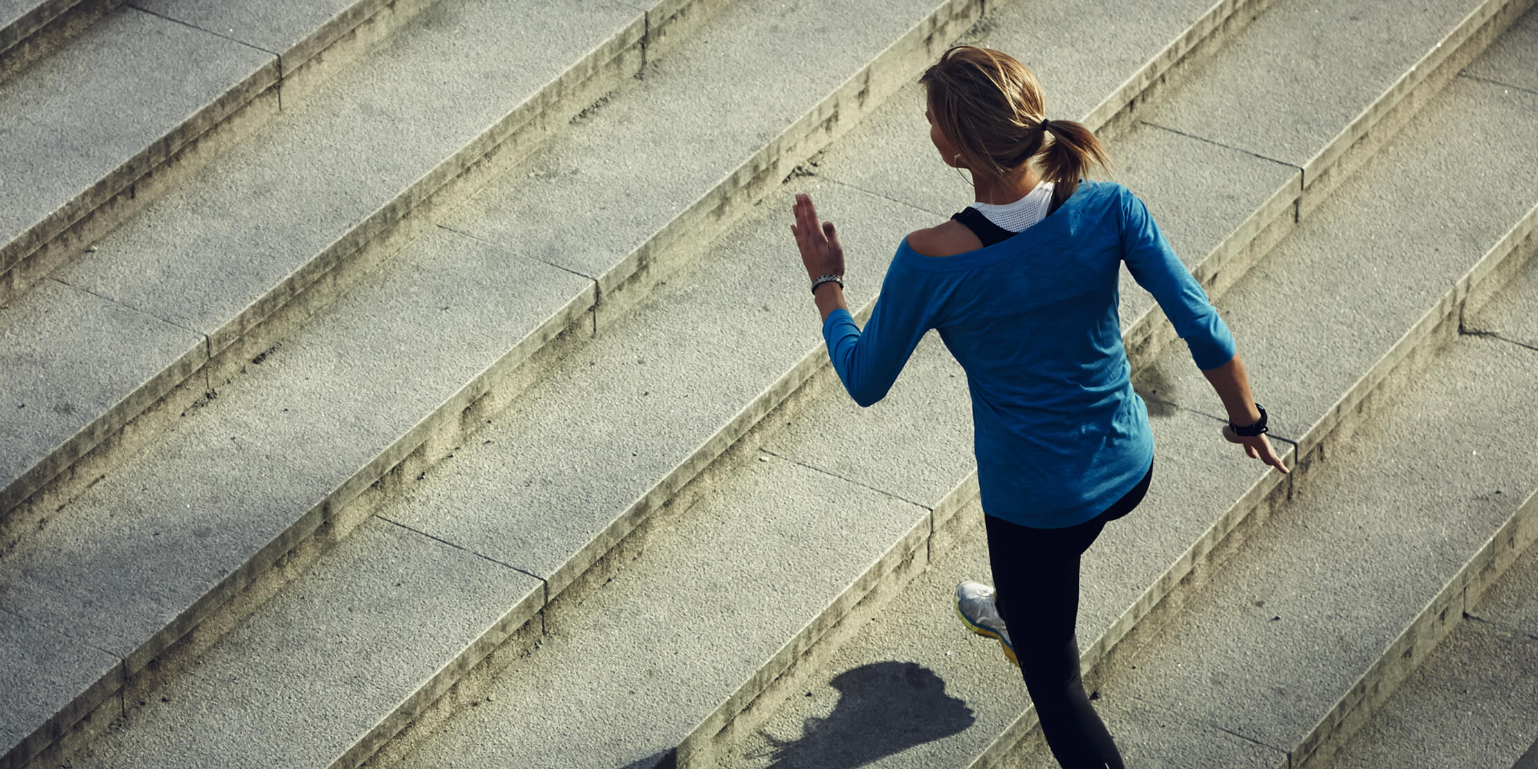 Photo for 7 simple stairway exercises for a healthier heart and body