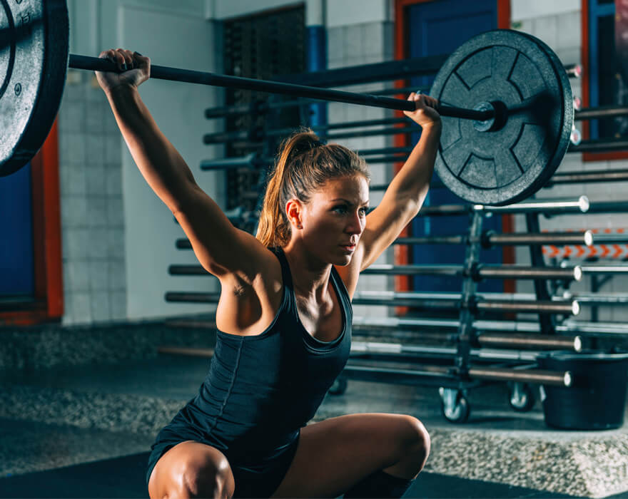 Consumer Health: Weight training to improve your muscular fitness