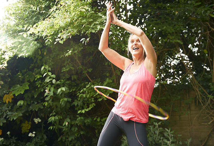 Do weighted hula hoops provide a good workout, or are they just a gimmick?