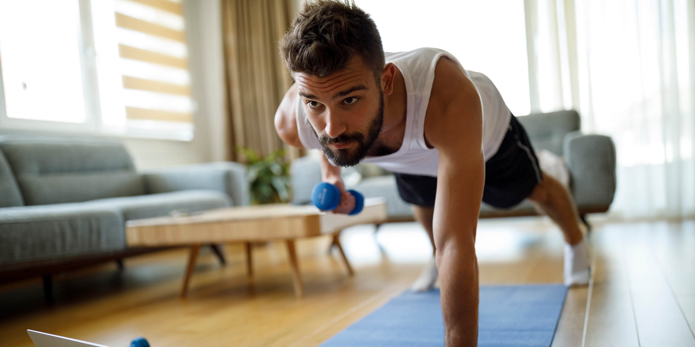 Photo for A Full-Body Workout to Shake Up Your Exercise Routine at Home