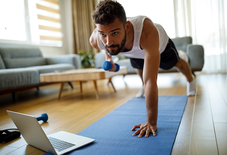 A Full-Body Workout to Shake Up Your Exercise Routine at Home