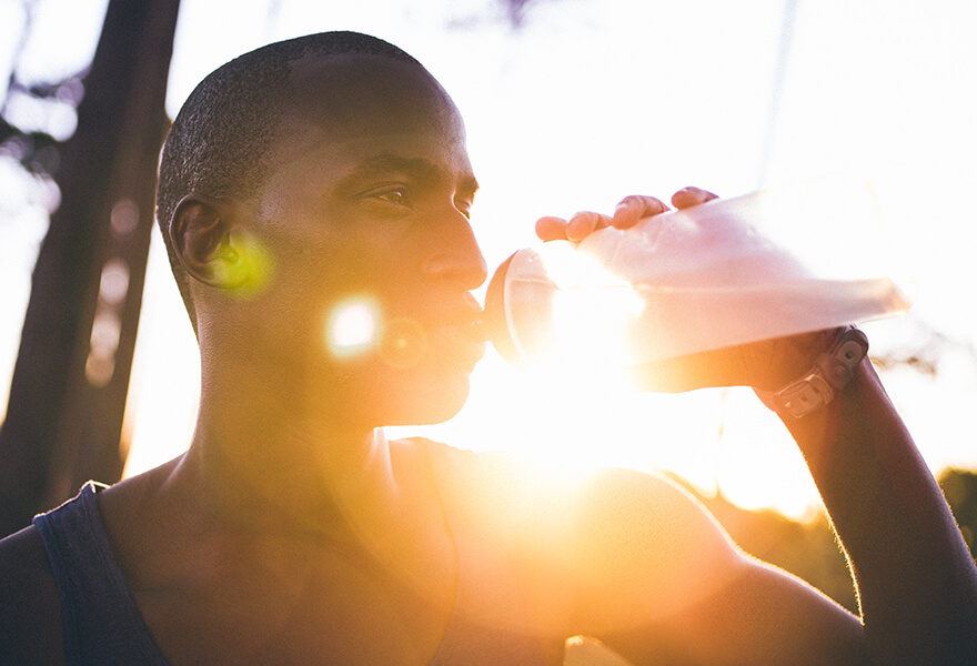 Photo for Drink to thirst when exercising