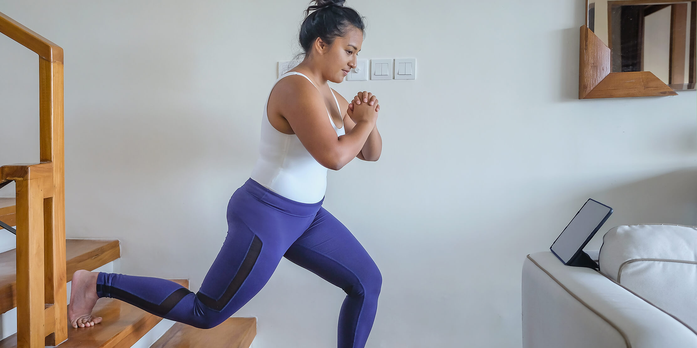 Photo for 5 stair exercises to do at home